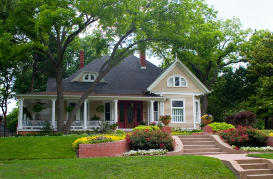 Homeowners Insurance Nice Home with Landscaping